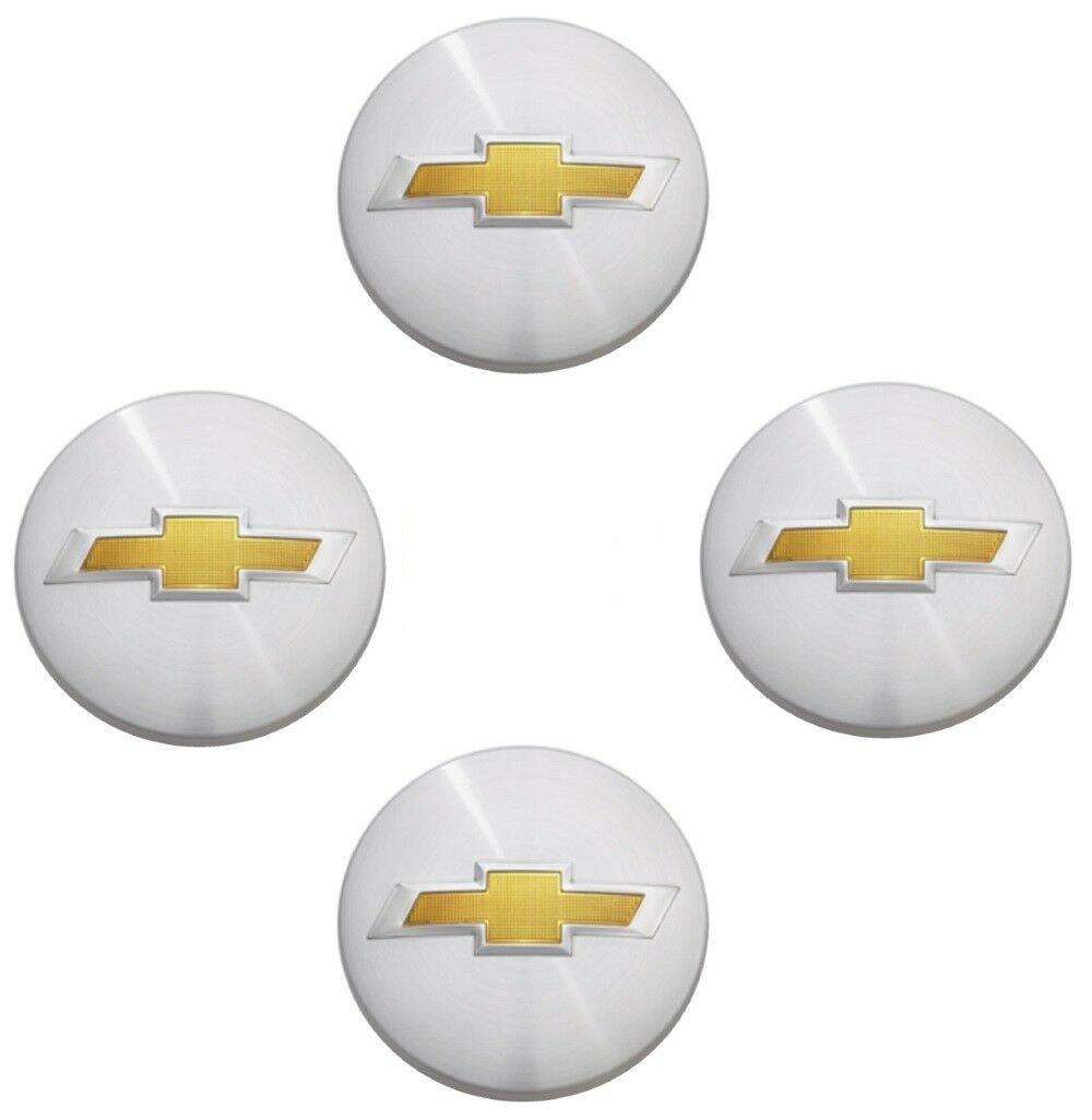 4 x Chrome Chevy Suburban Tahoe Center Caps 9596403 3.25 18 20 22 inch Wheels